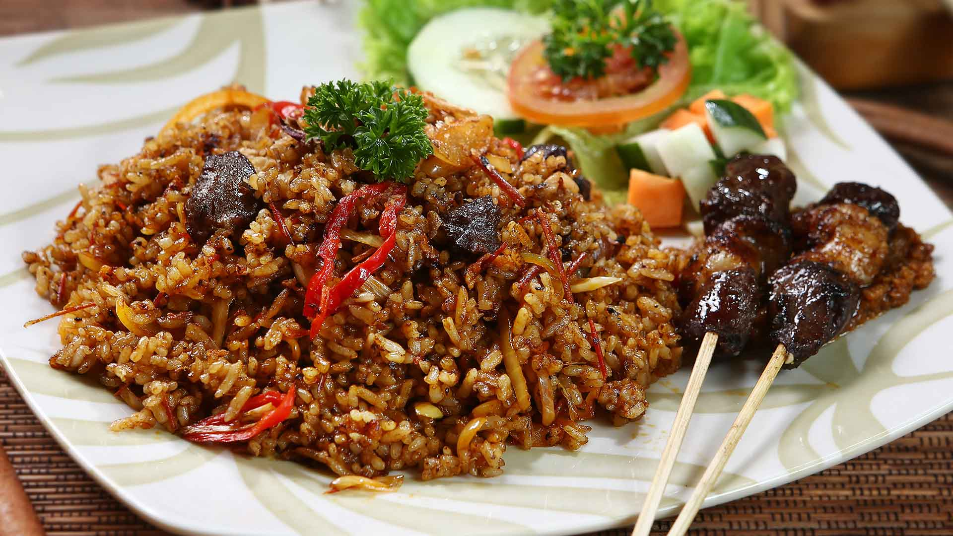 Nasi Goreng Kambing Karma Salak (Karma Salak Mutton Fried Rice)
