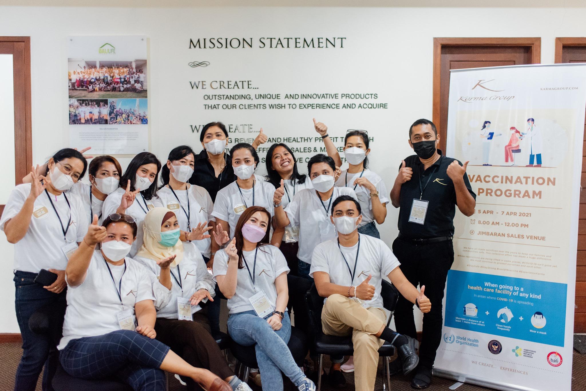 Bali Vaccination Drive