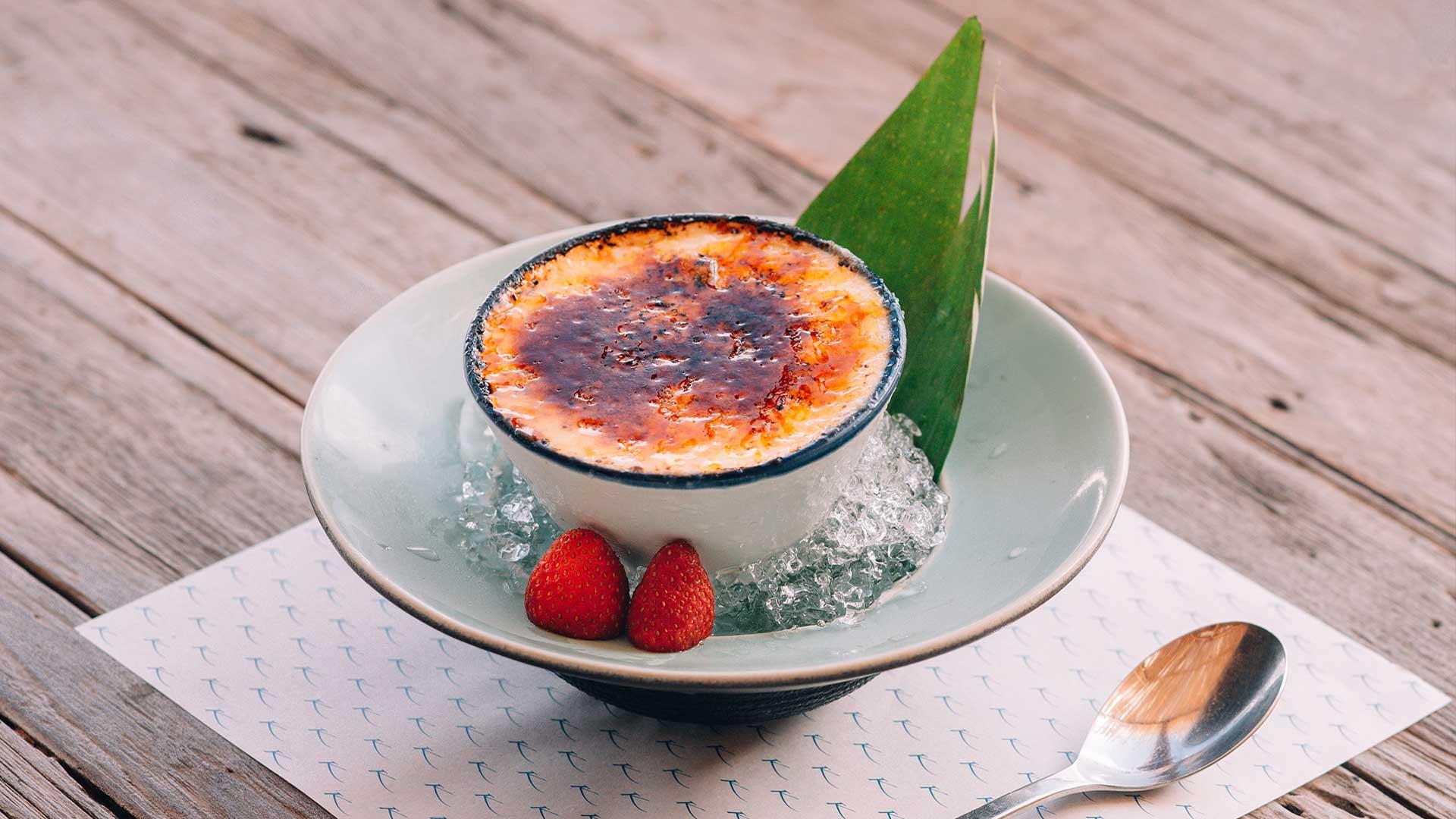 Spa & Dine : Greek Yogurt Crème Brûlée