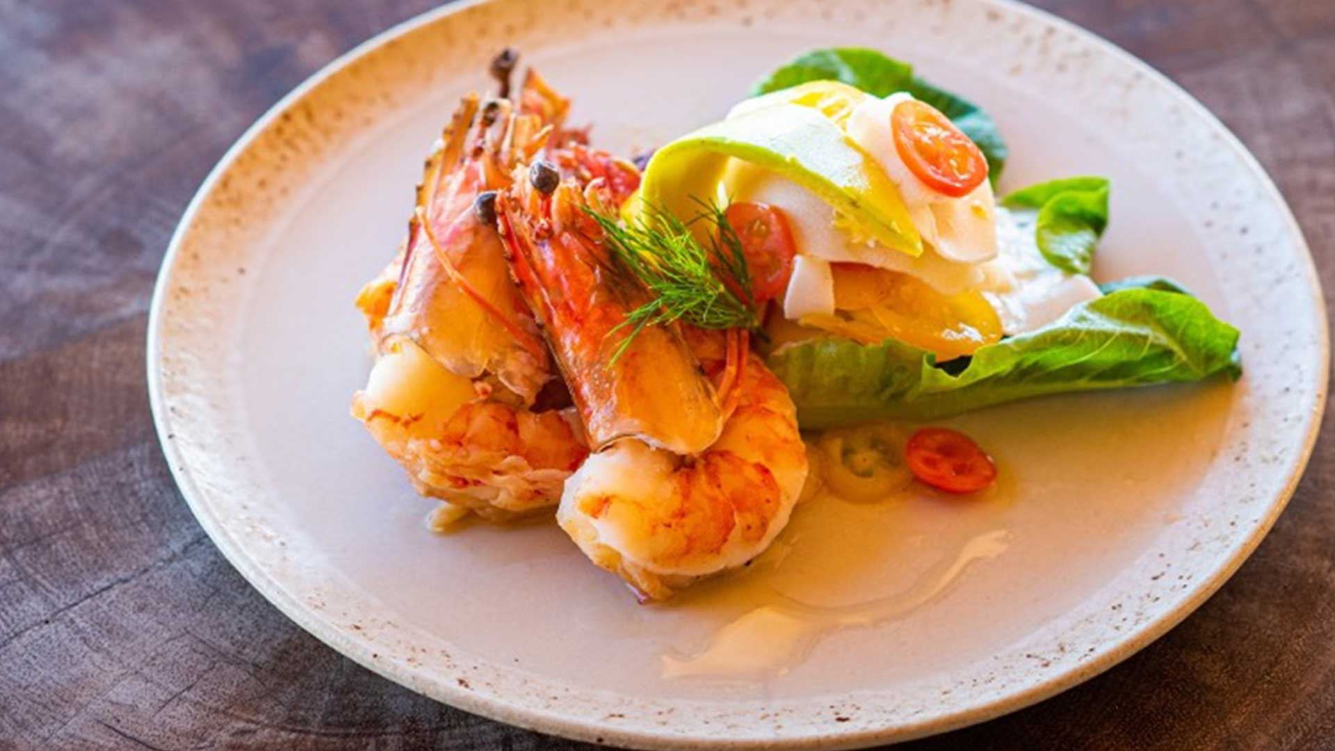 Summer Drizzle : Chilled Smoked Prawns